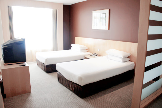 genting first world hotel room bed