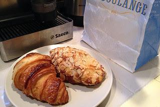La Boulange - An Almond Croissant
