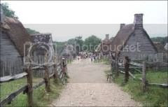 first street established by the Pilgrims in Plymouth Colony
