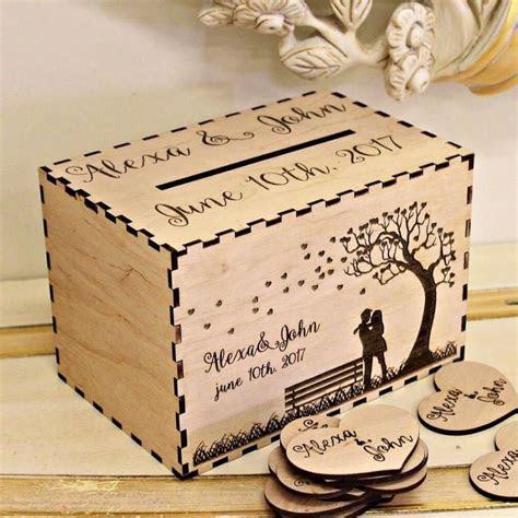 Wedding Card Box, Personalized Wedding Card Box, Rustic