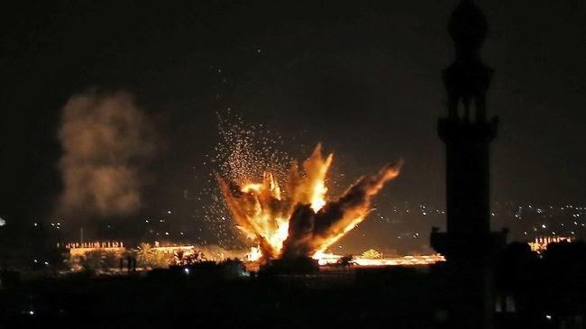 Dua Roket Hantam Kedubes AS di Irak