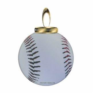 Baseball Ornament photosculpture