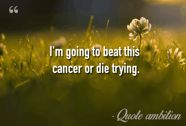 Best 107 Inspirational Cancer Quotes Top List
