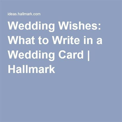 Wedding wishes: what to write in a wedding card   Read
