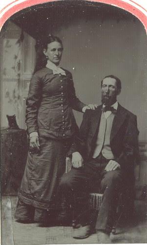 Hiram Stotler and Sarah F. Stotler.