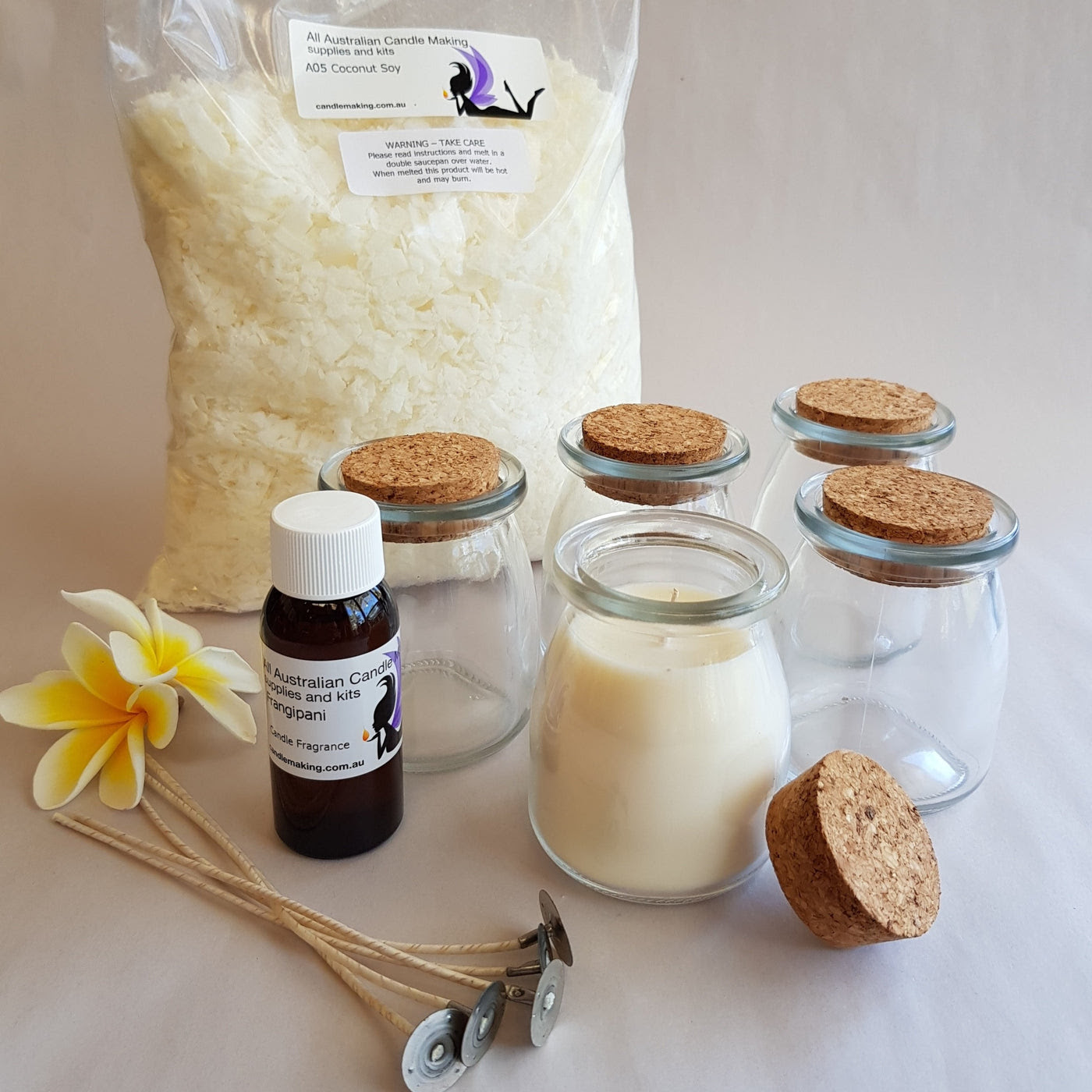 Beeswax Kit - Gold - All Australian Candle Making Supplies ...