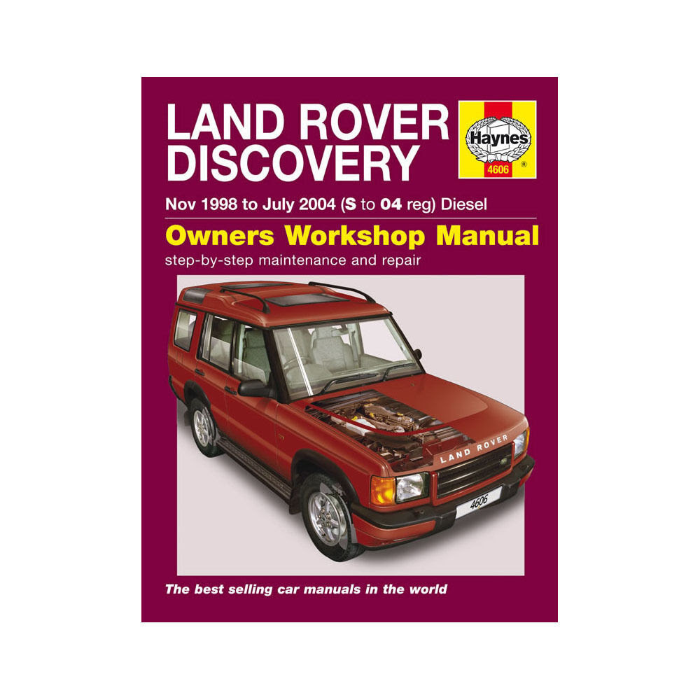 Land Rover Discovery 2.5 Diesel 1998-04 (S to 04 Reg .