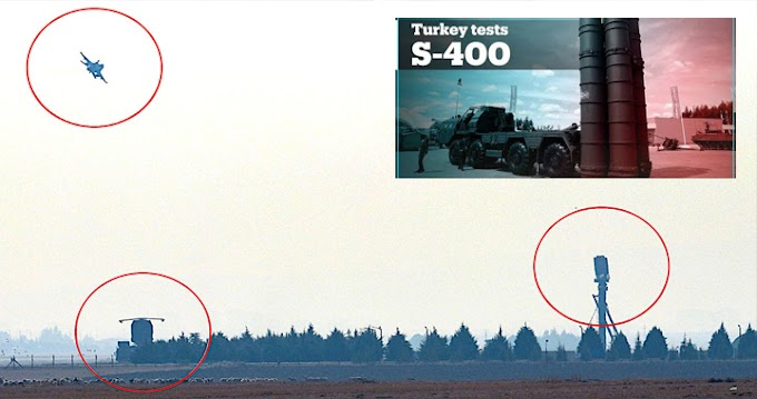 A Turquia está testando caças F-16 e F-4 contra o sistema russo de mísseis S-400?