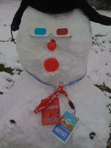 Robo SnowWoman