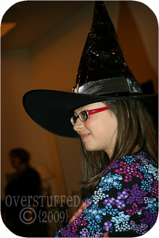 Proud little witch