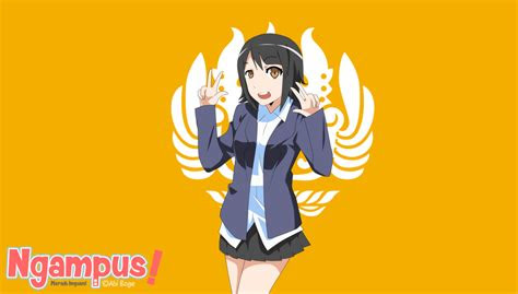 kamu termasuk karakter mahasiswa versi anime