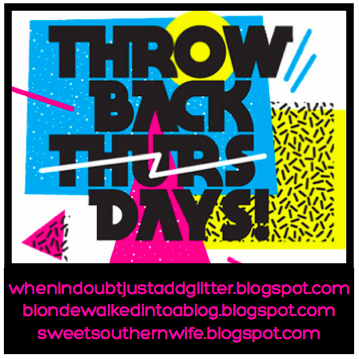 Throwback Thursdays Button
