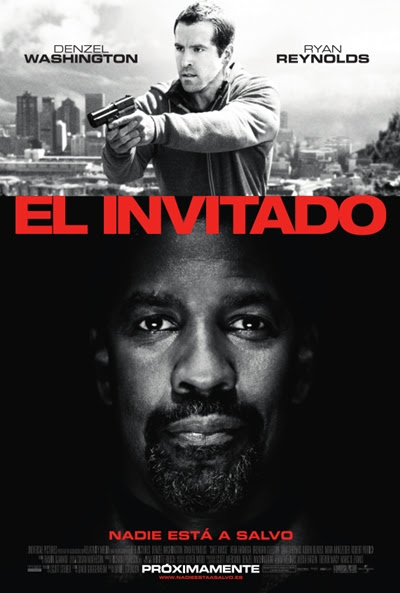 Cartel de El invitado (Safe House)