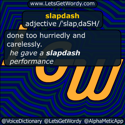 slapdash 04/09/2016 GFX Definition