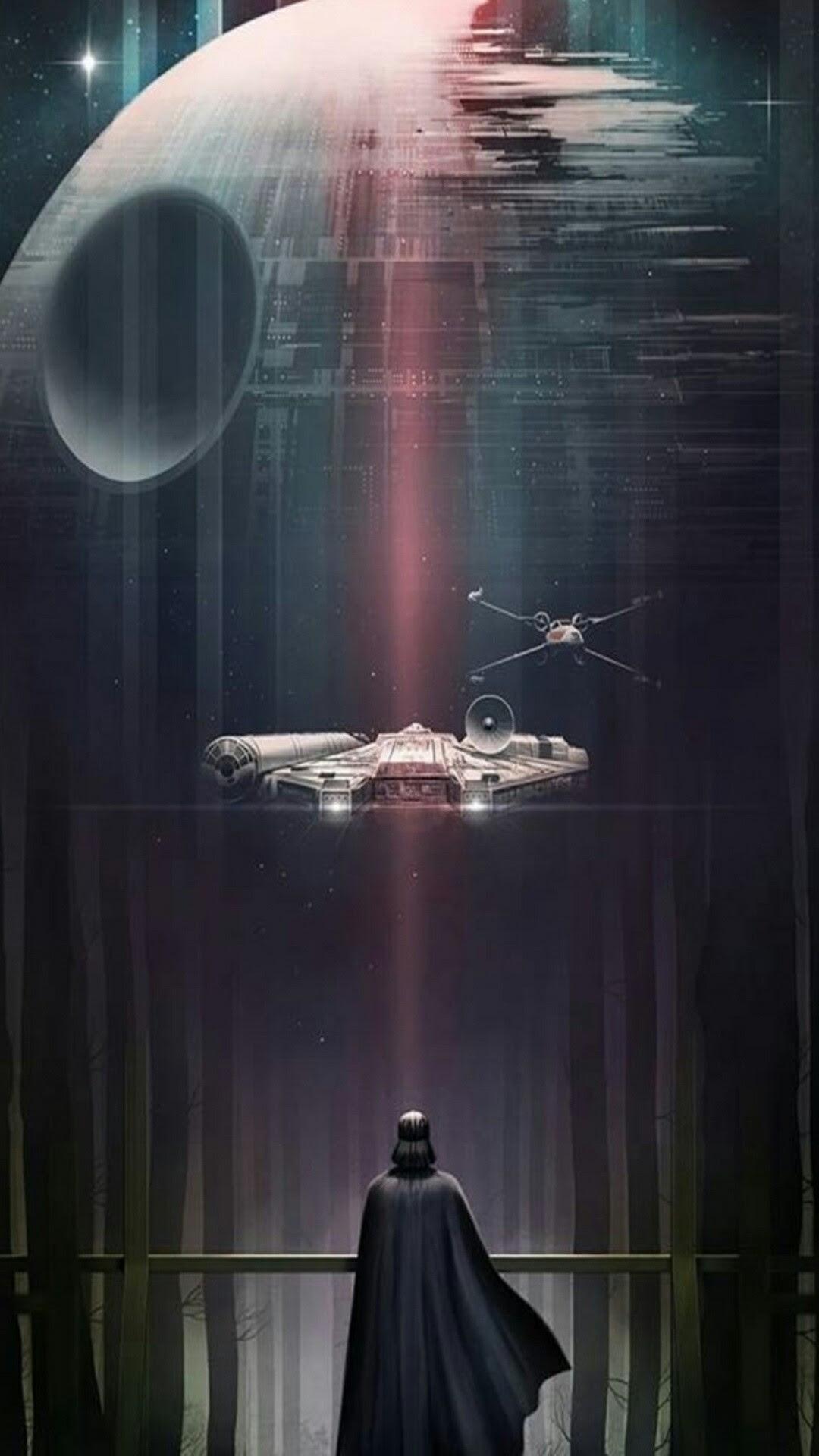 Jedi Order Star Wars Phone Wallpaper Glowing Symbol My Work