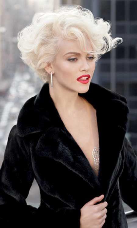 Platinum Blonde Hairstyles Short