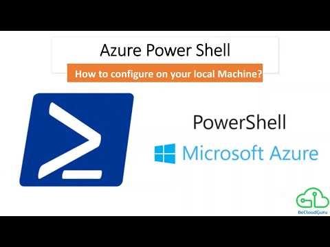 Azure Powershell Module, How to install Azure Powershell Module?