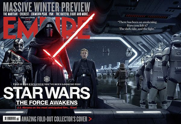 The First Order cover of Empire's THE FORCE AWAKENS magazine issue.