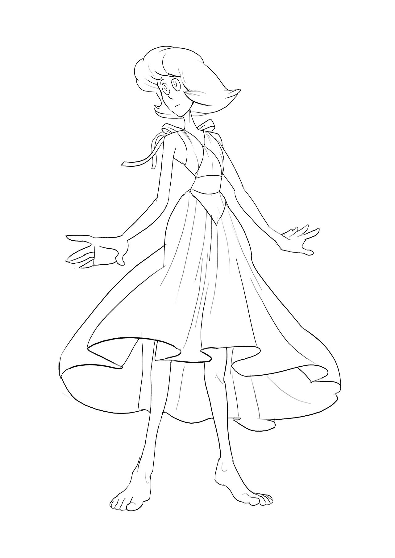 A little drawing of lapis. Just to mix things up a little.