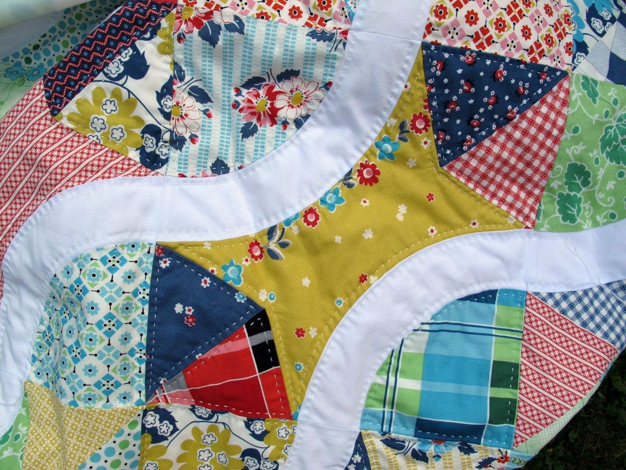 Quilting with perle cotton (again)