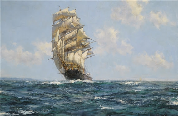 Montague Dawson, THE SOUTHERN CROSS