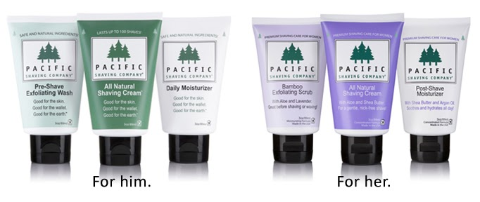 Image result for Pacific Shaving Co.: San Francisco-based Pacific Shaving Co. makes eco-friendly, relatively affordable shaving products for men and for women.