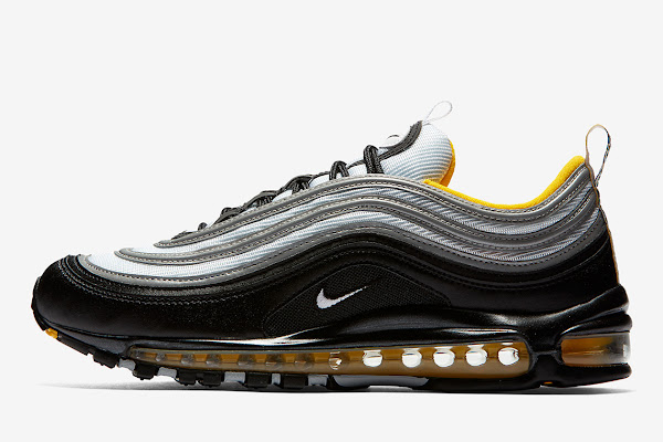 quality design 9a8b4 42a61 Pittsburgh Steelers Fans Will Love This Nike Air Max 97