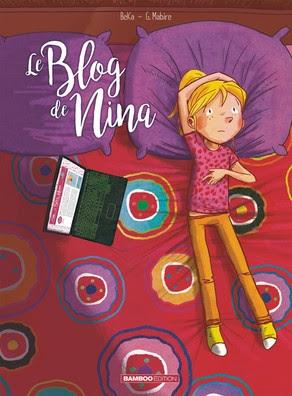Couverture Le blog de Nina