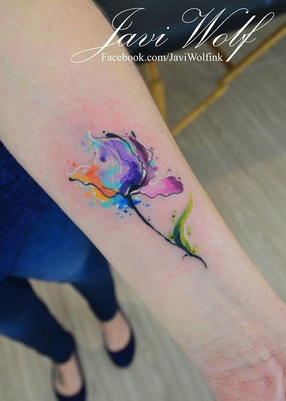 15 Tatuajes De Acuarela Que Querrás Tener Cuanto Antes Mujer De 10
