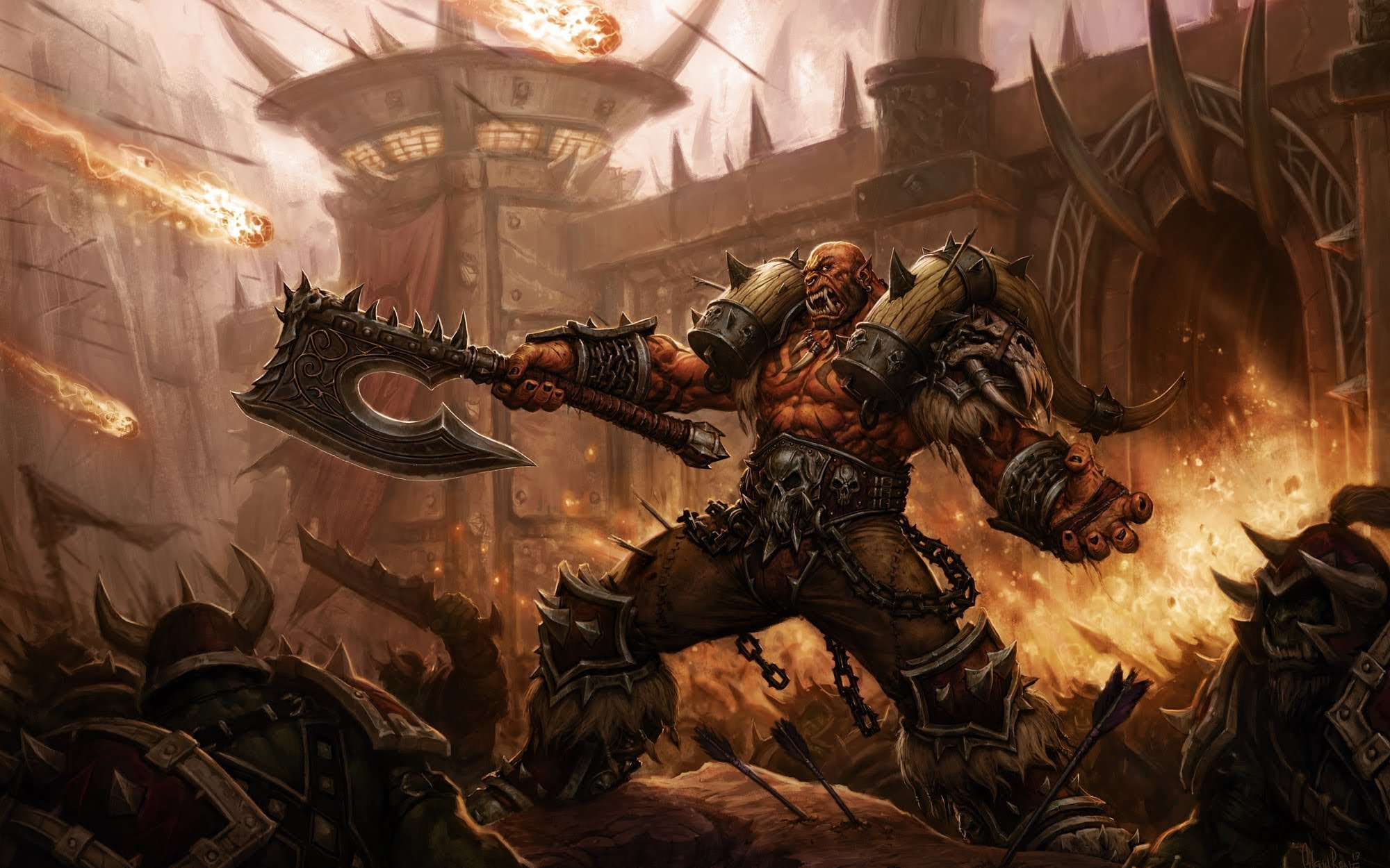Garrosh is a contentious hero but damn he's fun to play screenshot