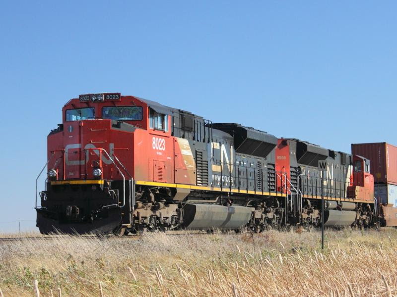 CN 8023 in Winnipeg