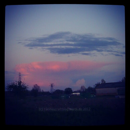 Red anvil cloud