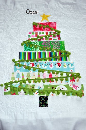 The Quilted Tree ~ One Last Look