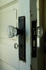 New doorknob