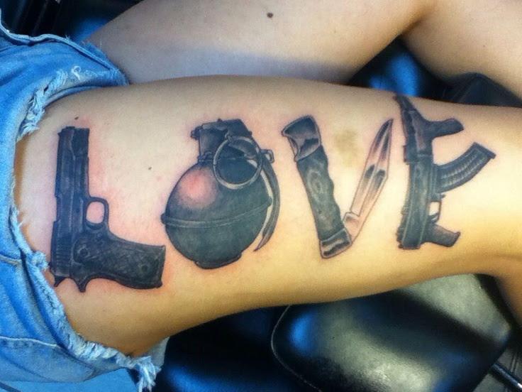 Love War Tattoos