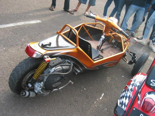 Gabby Automotive: Modivikasi Motor Vespa 2009