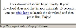 Happy2008, UHavePostCard or not...