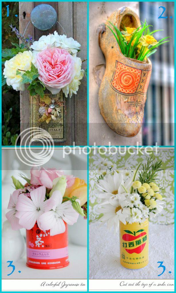 C'è crisi, c'è crisi, guida alla sopravvivenza sul pianeta terra, idee di home decor con i fiori, linky party, bouquet messicano, fiesta stile mexiacan, fiori sgargianti, decorare con i fiori, fiori in giardino, riciclo creativo, idee per matrimonio