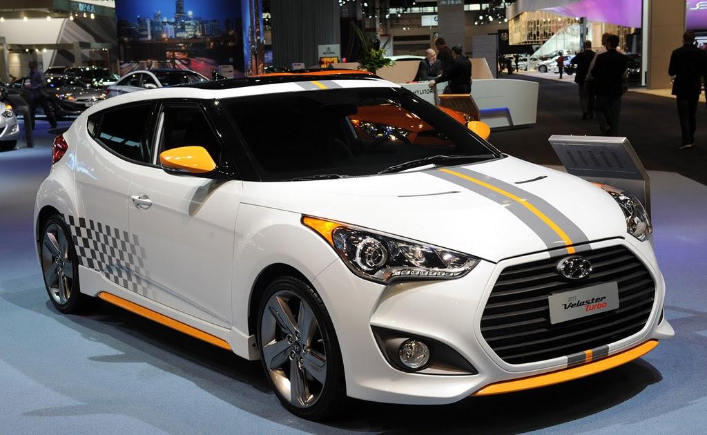 Exterior Design - Hyundai/Kia: 2013 Hyundai Veloster Turbo At 2012 Chicago Auto Show