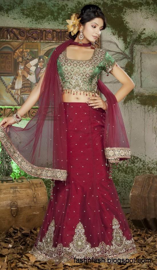 Indian-Pakistani-Beautiful-Bridal-wedding-Dress-Collection-2012-2013-Bridal-Saree-Lehanga-6