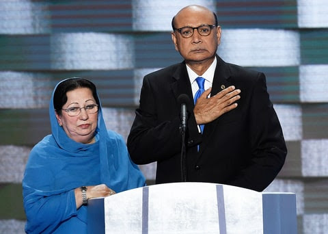 Khizr Khan Democratic National Convention