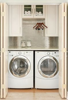 Small laundry room   Bathroom Ideas   Pinterest