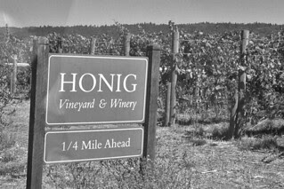 Honig Vineyard and Winery - Signs
