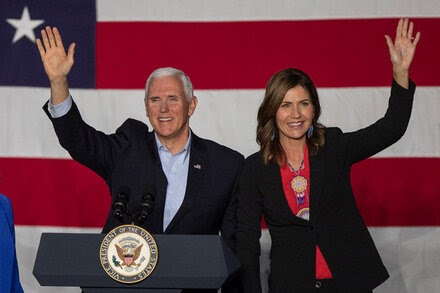 TREND ESSENCE:How Kristi Noem, Mt. Rushmore and Trump Fueled Speculation About Pence's Job