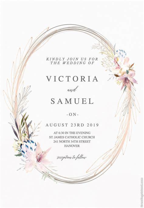 Breathtaking 25 Most Popular Wedding Invitations 2019