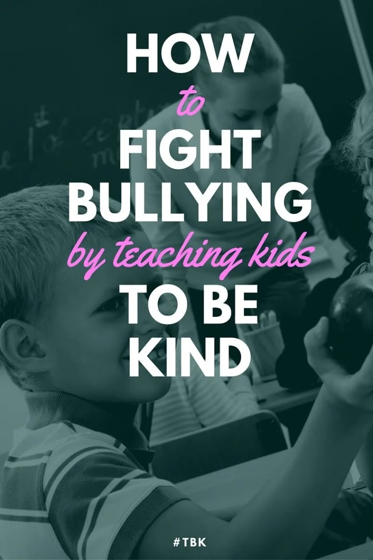 fight bullying by teaching kids to be kind