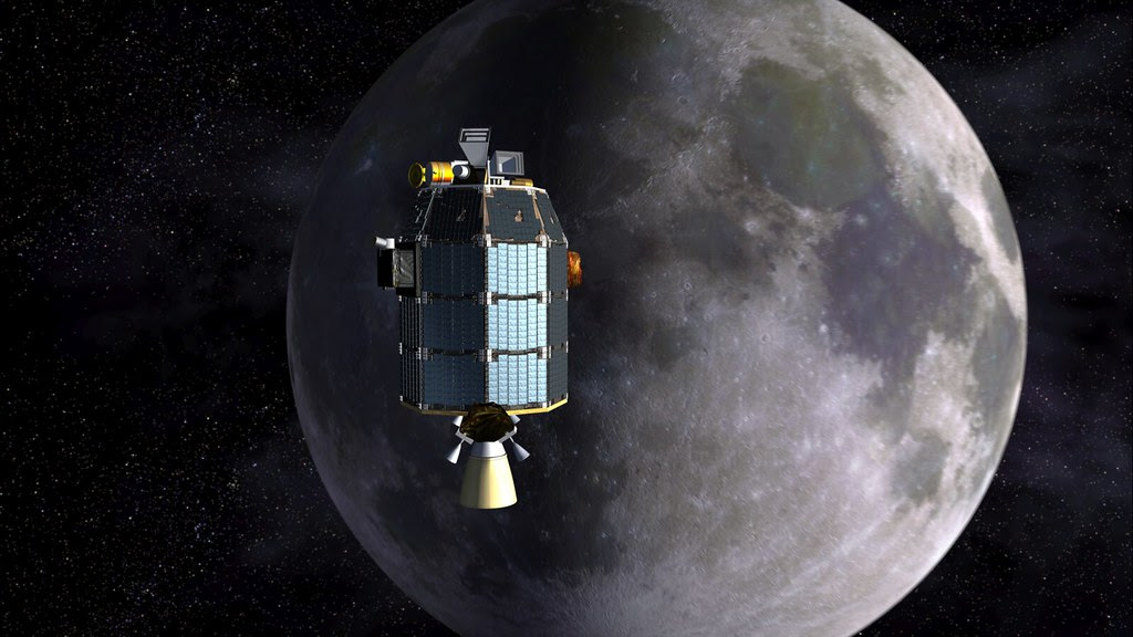 LADEE approaches lunar orbit insertion