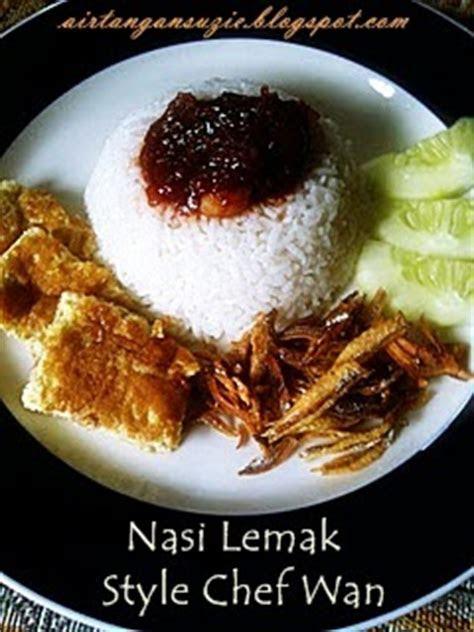 suzies kitchen nasi lemak style chef wan