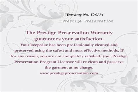 Wedding Gown Cleaning   Preservation   Two Accessories
