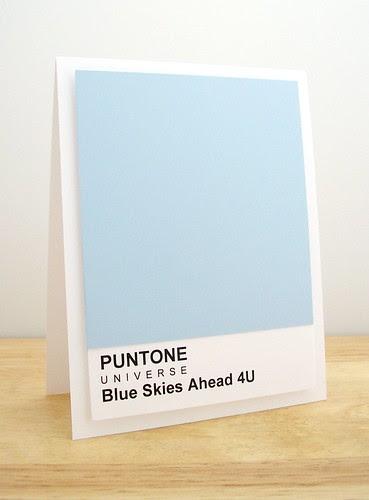 Blue Skies Ahead 4U